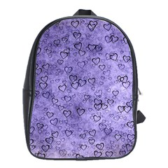 Heart Pattern School Bag (large)