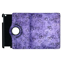 Heart Pattern Apple Ipad 3/4 Flip 360 Case