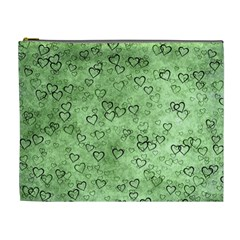 Heart Pattern Cosmetic Bag (xl)