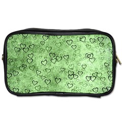Heart Pattern Toiletries Bags 2 Side