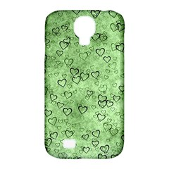 Heart Pattern Samsung Galaxy S4 Classic Hardshell Case (pc+silicone)