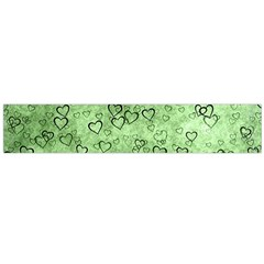 Heart Pattern Flano Scarf (large)