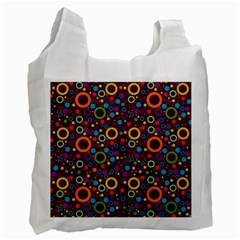 70s Pattern Recycle Bag (one Side)