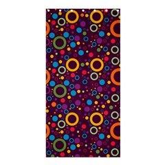 70s Pattern Shower Curtain 36  X 72  (stall)