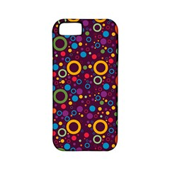 70s Pattern Apple Iphone 5 Classic Hardshell Case (pc+silicone)