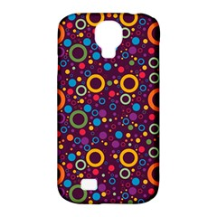70s Pattern Samsung Galaxy S4 Classic Hardshell Case (pc+silicone)