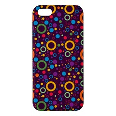 70s Pattern Iphone 5s/ Se Premium Hardshell Case