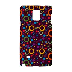 70s Pattern Samsung Galaxy Note 4 Hardshell Case