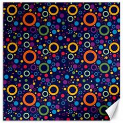 70s Pattern Canvas 20  X 20