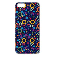 70s Pattern Apple Seamless Iphone 5 Case (clear)