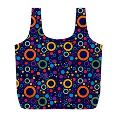 70s Pattern Full Print Recycle Bags (l)
