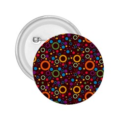 70s Pattern 2 25  Buttons