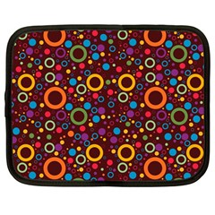 70s Pattern Netbook Case (large)
