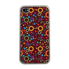 70s Pattern Apple Iphone 4 Case (clear)