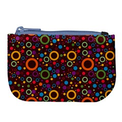 70s Pattern Large Coin Purse