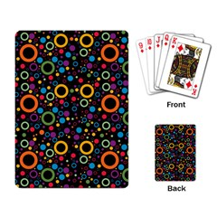 70s Pattern Playing Card