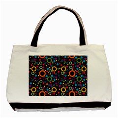 70s Pattern Basic Tote Bag (two Sides)