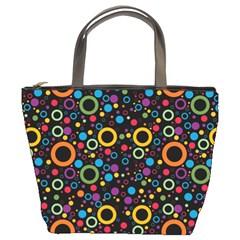 70s Pattern Bucket Bags