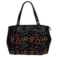 70s Pattern Office Handbags