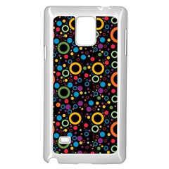 70s Pattern Samsung Galaxy Note 4 Case (white)