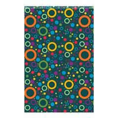 70s Pattern Shower Curtain 48  X 72  (small)
