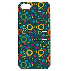 70s Pattern Apple Iphone 5 Hardshell Case With Stand