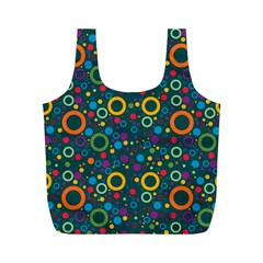 70s Pattern Full Print Recycle Bags (m)
