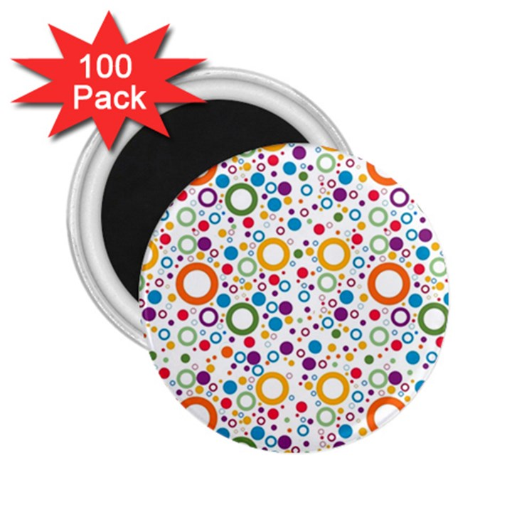 70s pattern 2.25  Magnets (100 pack)
