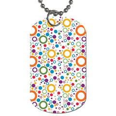 70s Pattern Dog Tag (two Sides)
