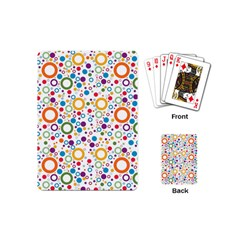 70s Pattern Playing Cards (mini)