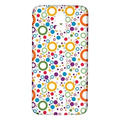 70s Pattern Samsung Galaxy S5 Back Case (white)