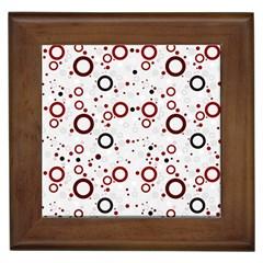 70s Pattern Framed Tiles
