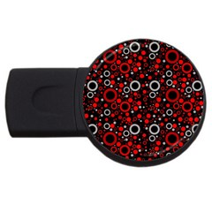 70s Pattern Usb Flash Drive Round (4 Gb)