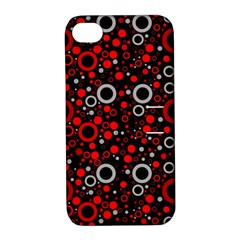 70s Pattern Apple Iphone 4/4s Hardshell Case With Stand
