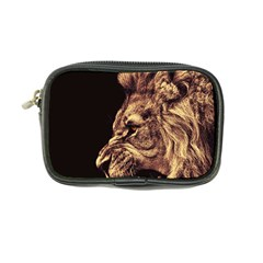 Angry Male Lion Gold Coin Purse