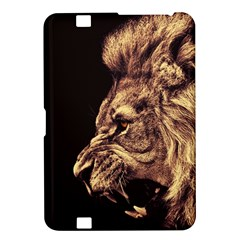 Angry Male Lion Gold Kindle Fire Hd 8 9
