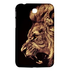 Angry Male Lion Gold Samsung Galaxy Tab 3 (7 ) P3200 Hardshell Case