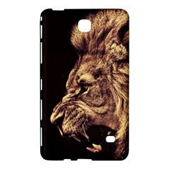 Angry Male Lion Gold Samsung Galaxy Tab 4 (8 ) Hardshell Case