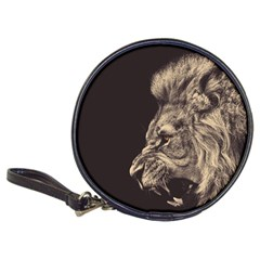 Angry Male Lion Classic 20 Cd Wallets