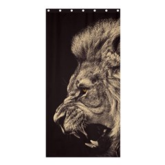 Angry Male Lion Shower Curtain 36  X 72  (stall)