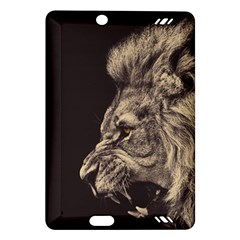 Angry Male Lion Amazon Kindle Fire Hd (2013) Hardshell Case