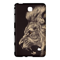 Angry Male Lion Samsung Galaxy Tab 4 (8 ) Hardshell Case