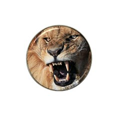 Male Lion Angry Hat Clip Ball Marker