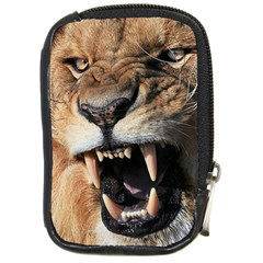 Male Lion Angry Compact Camera Cases