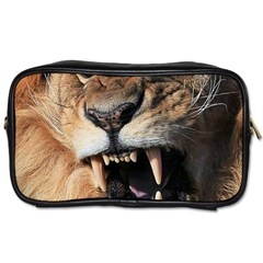 Male Lion Angry Toiletries Bags 2 Side