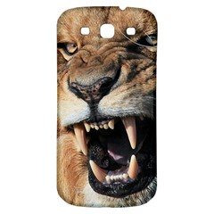Male Lion Angry Samsung Galaxy S3 S Iii Classic Hardshell Back Case