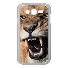 Male Lion Angry Samsung Galaxy Grand Duos I9082 Case (white)