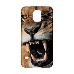 Male Lion Angry Samsung Galaxy S5 Hardshell Case