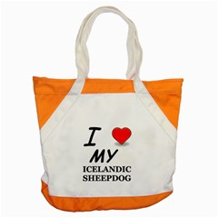 Iceland Sheepdog Love Accent Tote Bag