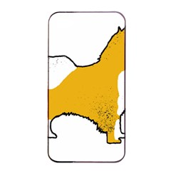 Icelandic Sheepdog Silo Color Apple Iphone 4/4s Seamless Case (black)